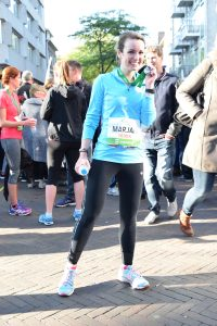 the happy financial helemaal happy na de IAK City Run