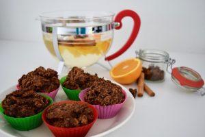 Coffee muffins ready