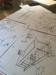 totaalplaatje van ons nieuwe tuinhuis / aanbouw