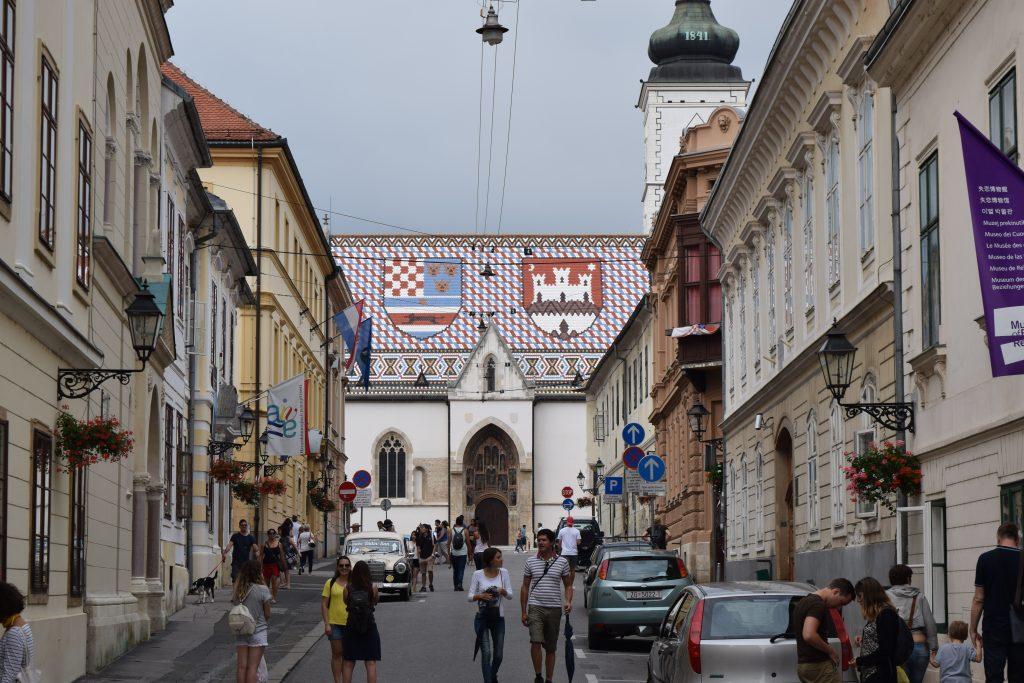 kathedraal, zagreb, kroatie