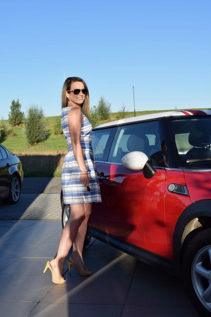 Happy met mijn eigen auto
