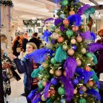the happy financial goes Christmas shopping