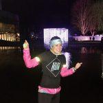 6 lagen kleding aan... Glow Run 2016 Eindhoven