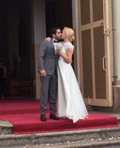 bruidspaar, bruiloft, kaunas, litouwen