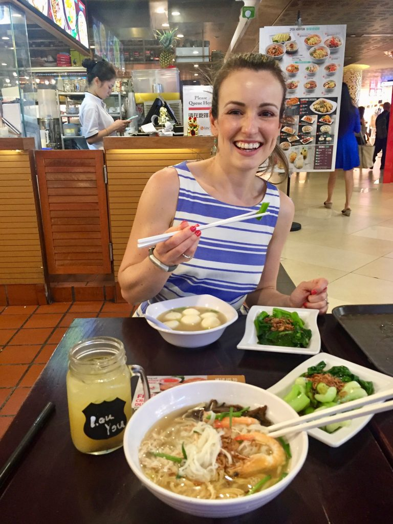 singapore, foodcourt