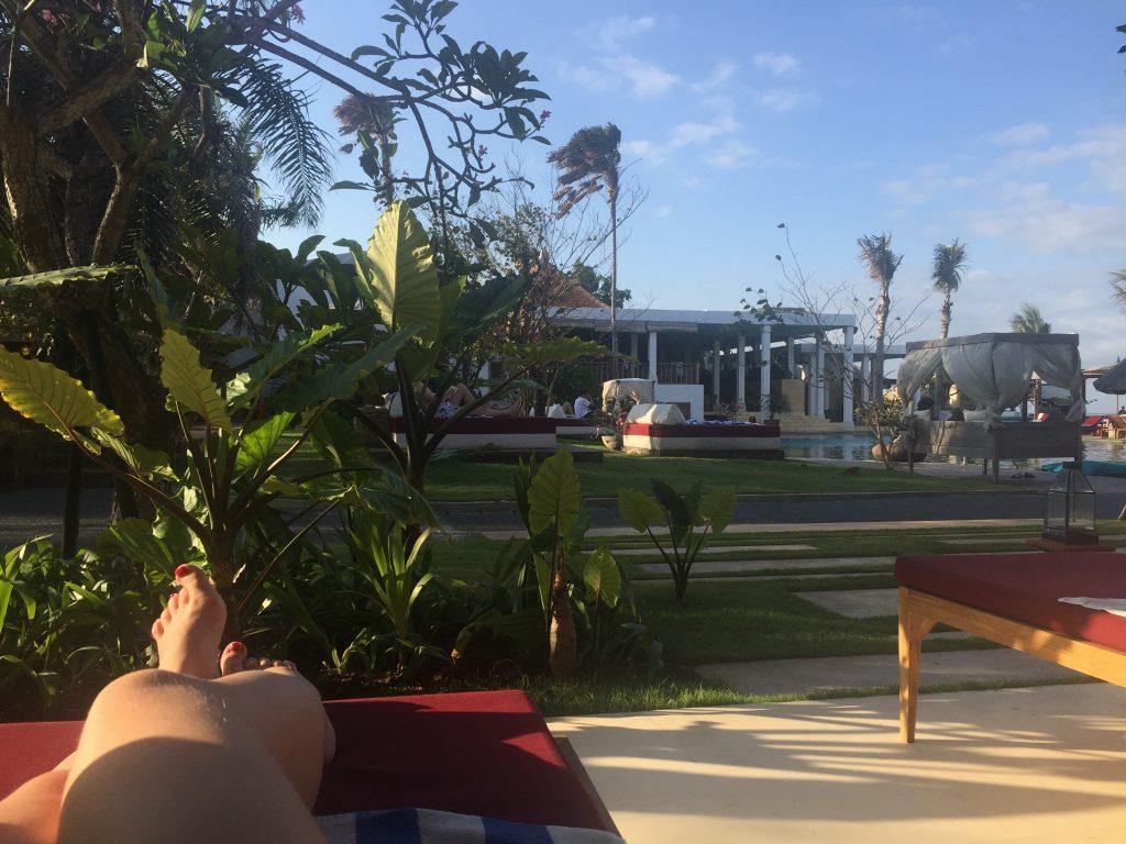 relaxen, vakantie, bali