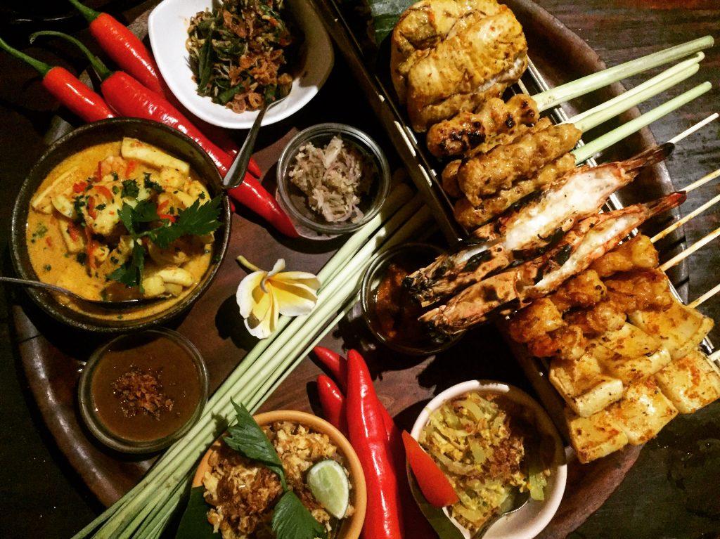 rijsttafel, eten, bali, food