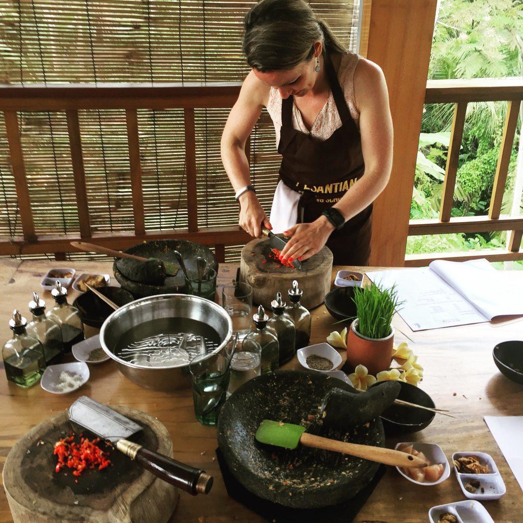 cooking, class, eten, food, ubud, bali