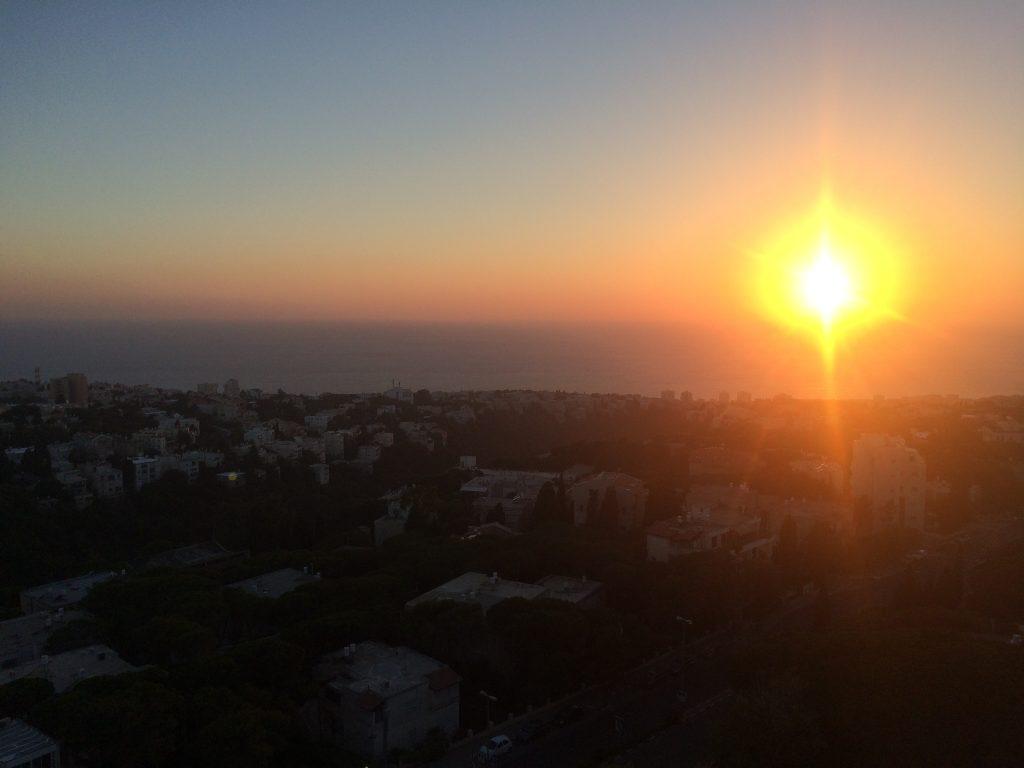 Sunset @ Haifa