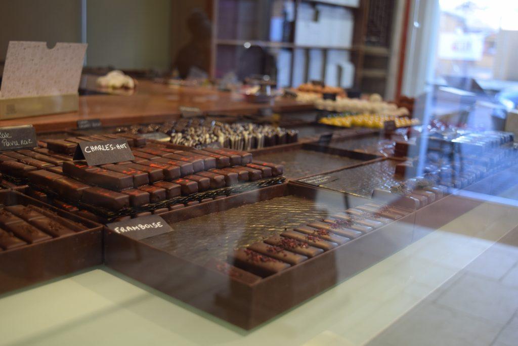 Chocola, heel veel chocola