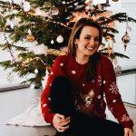Gelukkiger tijden voor de kerstboom