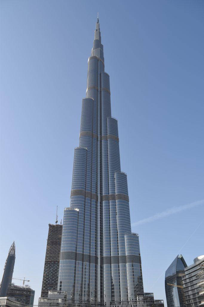 the happy financial in Dubai Burj Khalifa