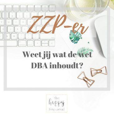 ZZP-er the happy financial