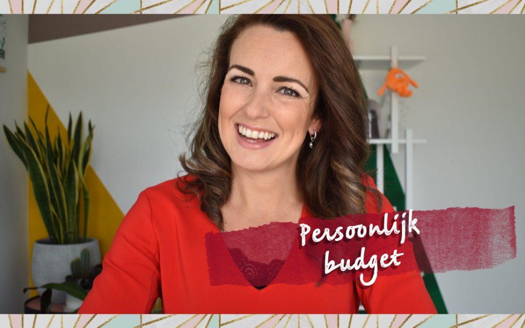Hoe stel je een persoonlijk budget op?