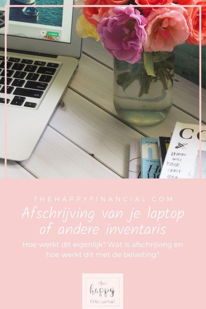 Afschrijving van laptop telefoon