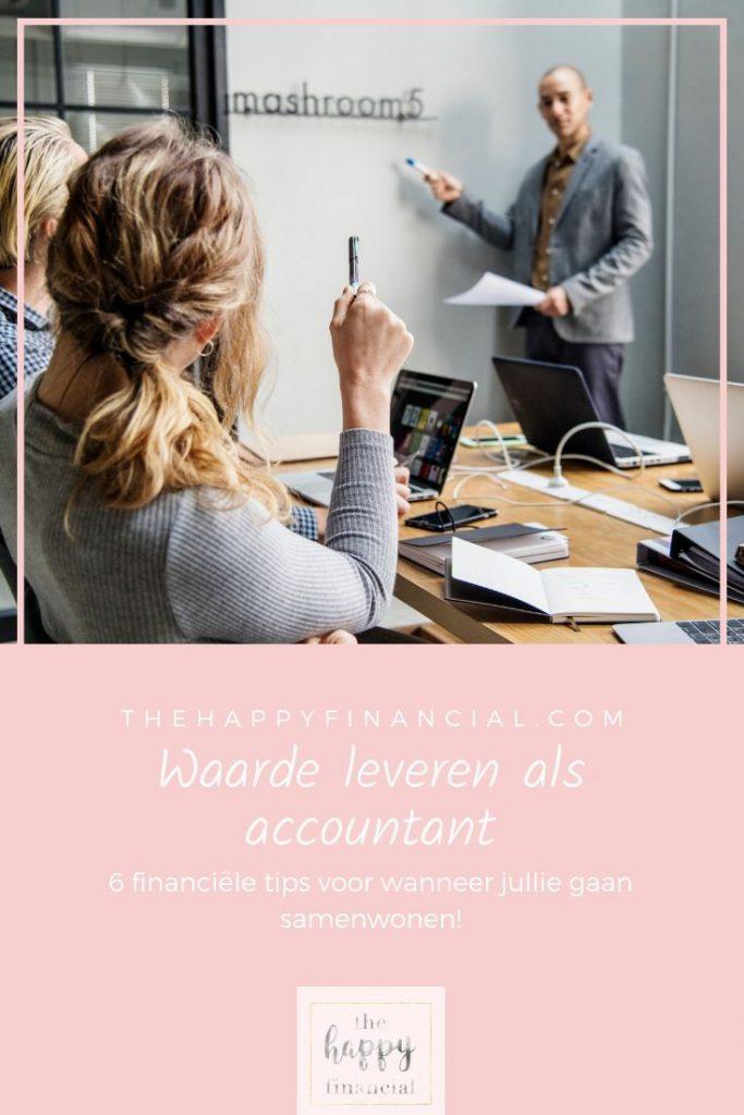 waarde leveren als accountant