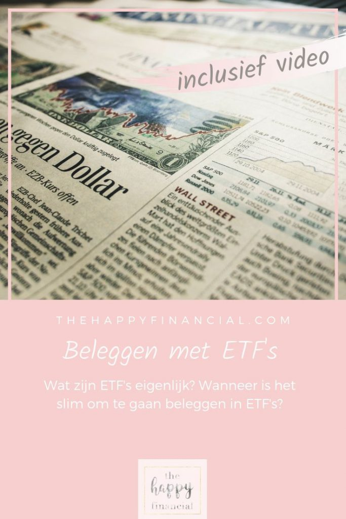 Beleggen met ETFs