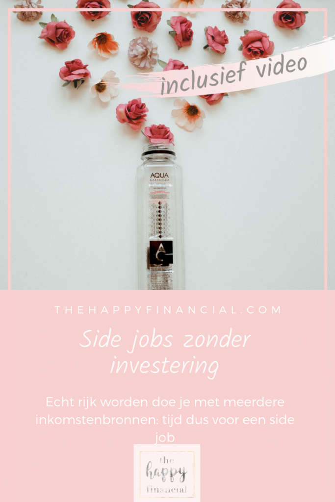 side job zonder investering