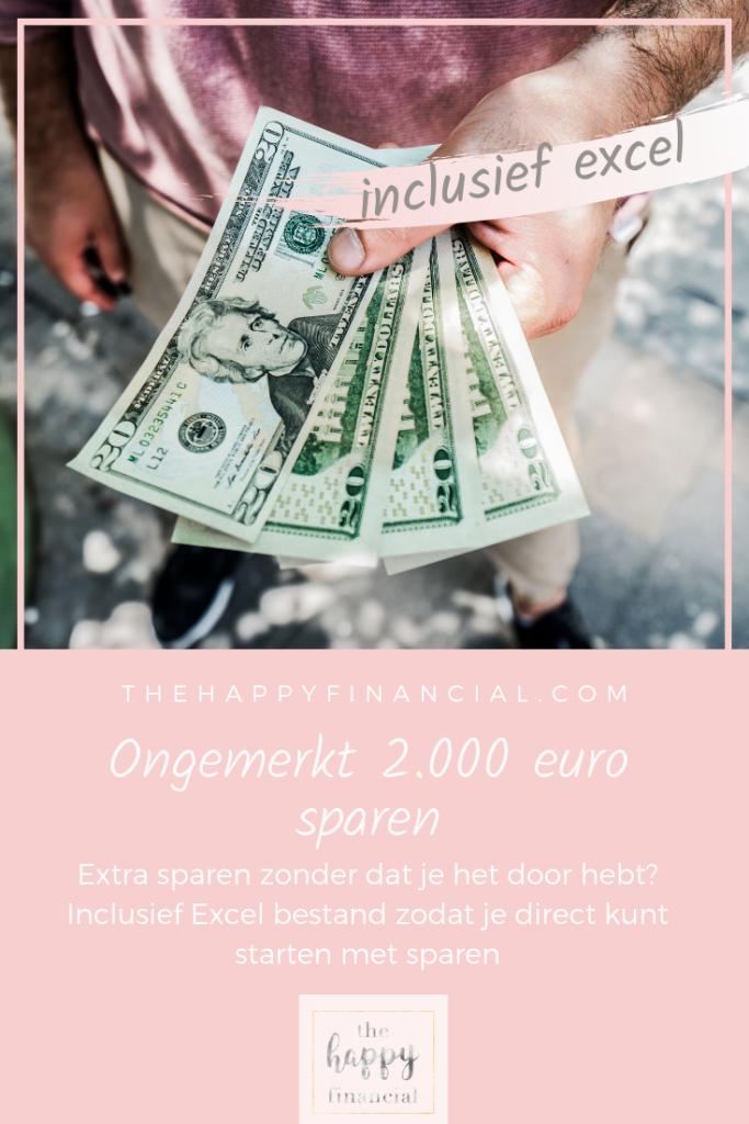 spaar 2000 euro