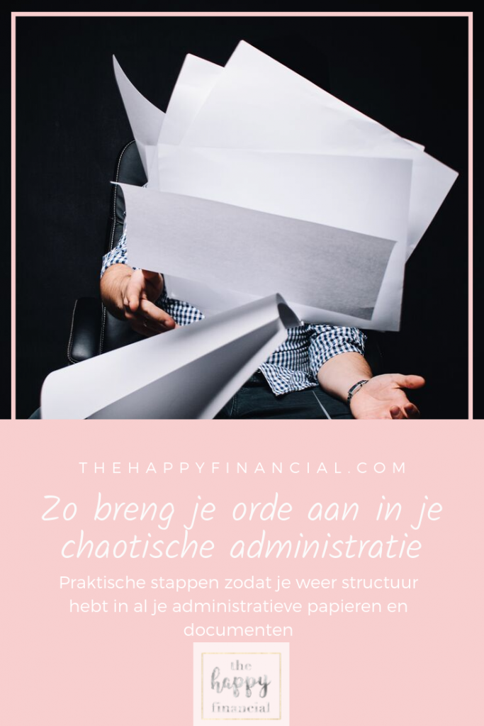 orde in chaos administratie