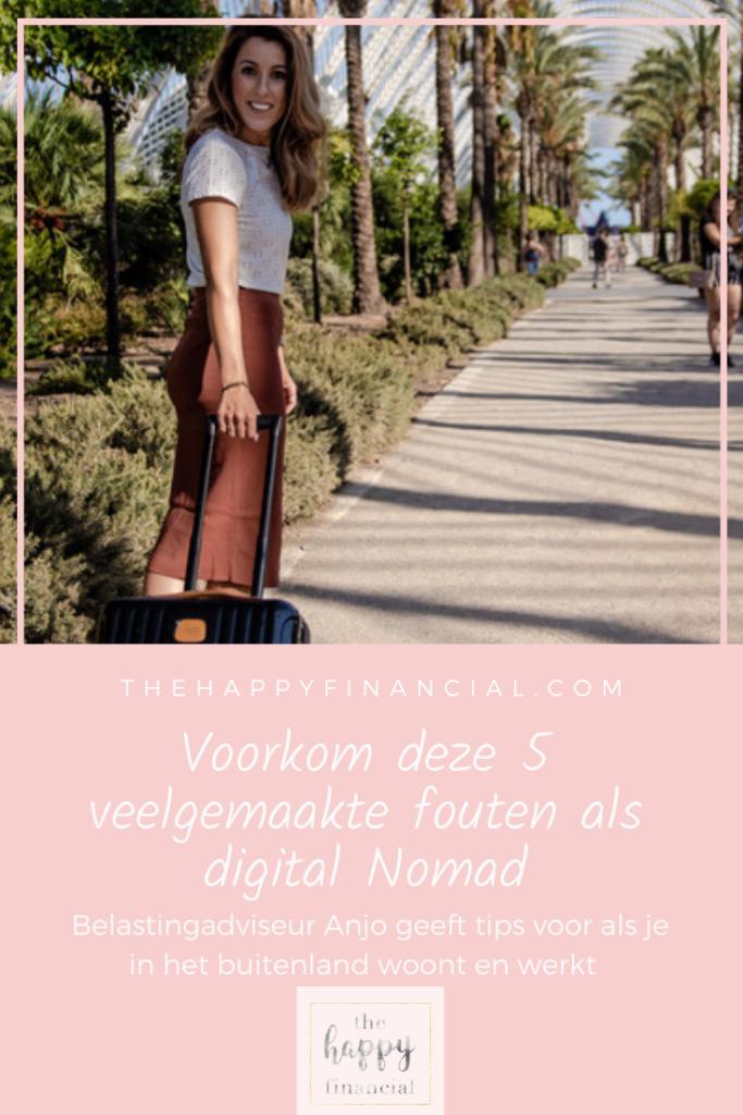 Digital nomad administratie en belastingen