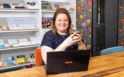 Het ondernemersverhaal van: Kelly Eekhof (Sterk in MEDIA)